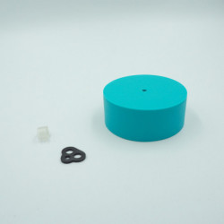 Pavillon en silicone turquoise