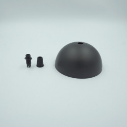 Pavillon métal noir