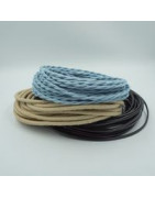 Câbles électriques textiles et PVC
