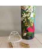 Kits pour la réalisation d'abat-jour ou lampes décoratives