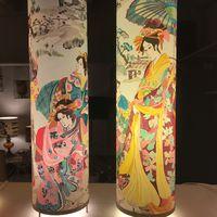papier peint japonaises sur polyphane adhésif pour abat-jour